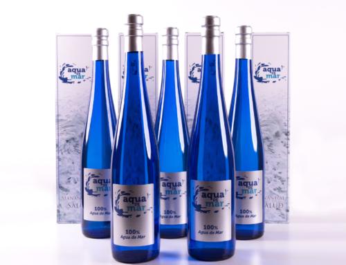 Nuevo formato de vidrio de Aqua de Mar