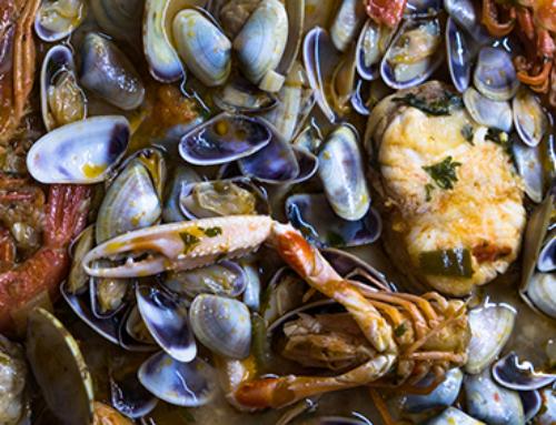El agua de mar «moja» las cocinas españolas